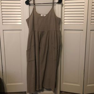 Carly Jean Los Angeles Dresses - CJLA gray midi dress